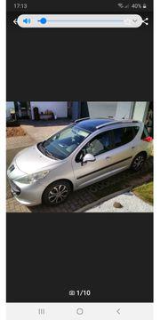 Peugeot 207 sw Top gepflegt