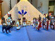 Playmobil Ägypter-Pyramide inclusive weiterer Figuren
