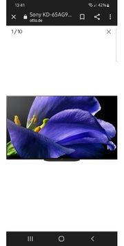 Sony Master Oled 65AG9 Top