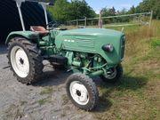 Oldtimer Traktor MAN