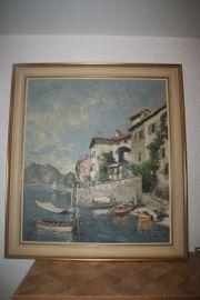 Ölgemälde von Otto Hellmeier 1908-1996