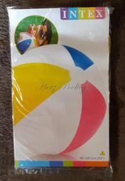 NEU aufblasbarer Wasserball Intex 4-färbig