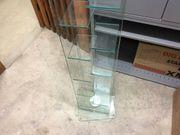 2 DVD- Cd-Regale Glas für