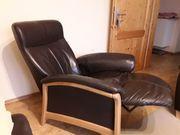 Relax Sessel Fernsehsessel Leder