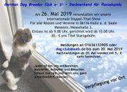 Hundeausstellung in Halle Saale