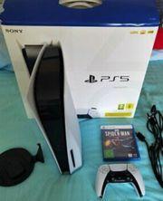 Sony Playstation Fünf 5 Disk