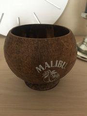 Malibu Trinkbecher Cocktailglas Kokosnuss Rum