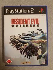 Playstation 2 Resident Evil Outbreak