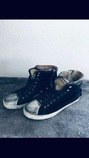 Crime London Sneaker Used Look