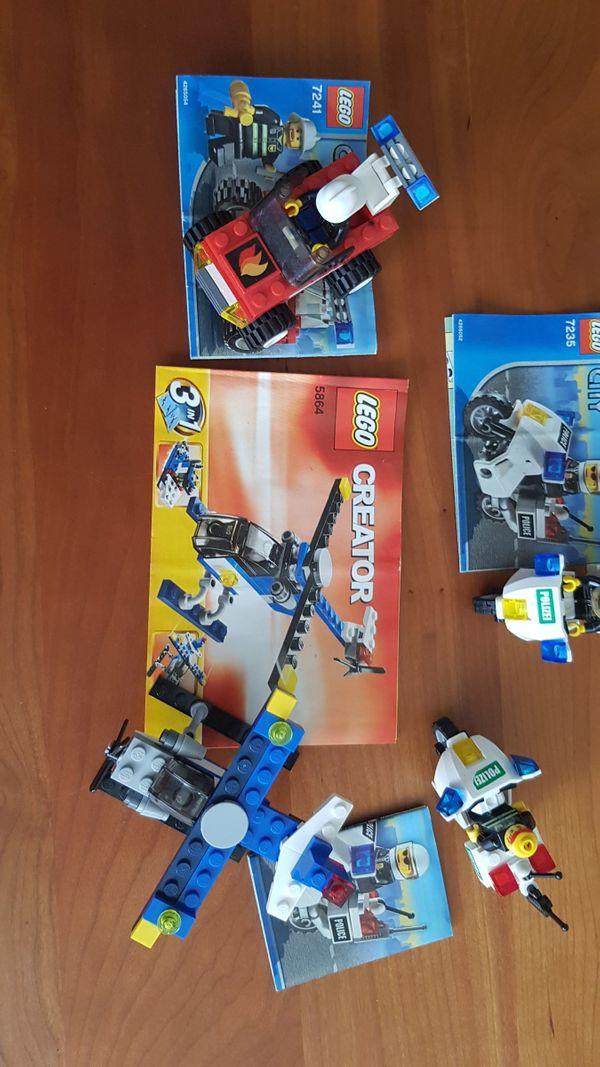 Lego Bausätze 7241 (Lego City), 7235, (Lego City), 5864 (Lego Creator) - Karlsruhe - Lego Bausätze 7241 (Lego City), 7235, (Lego City), 5864 (Lego Creator)endsprechend Bild inkl. Beschreibung. - Karlsruhe
