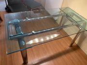 Glas- Esstisch