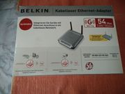 Belkin kabelloser Ethernet-Adapter