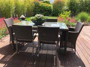Gartentisch Stühle Sessel Kunststoffgeflecht