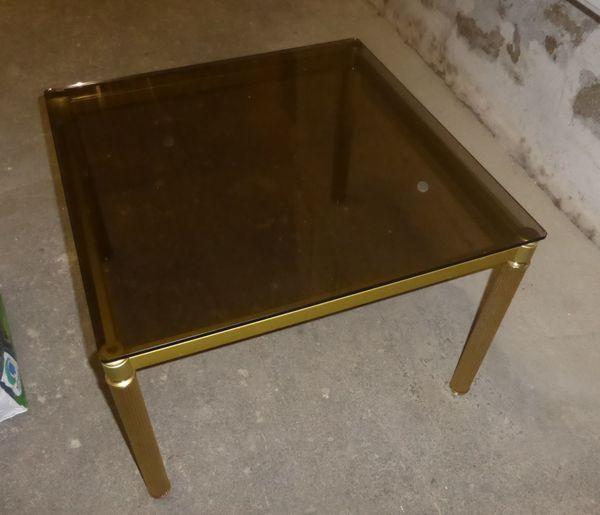 Couchtisch Tisch Beistelltisch Metalltisch Glastisch
