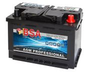 BSA AGM Professional Batterie 75Ah