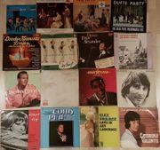 31 LPs Vinyl 50-70er Knef