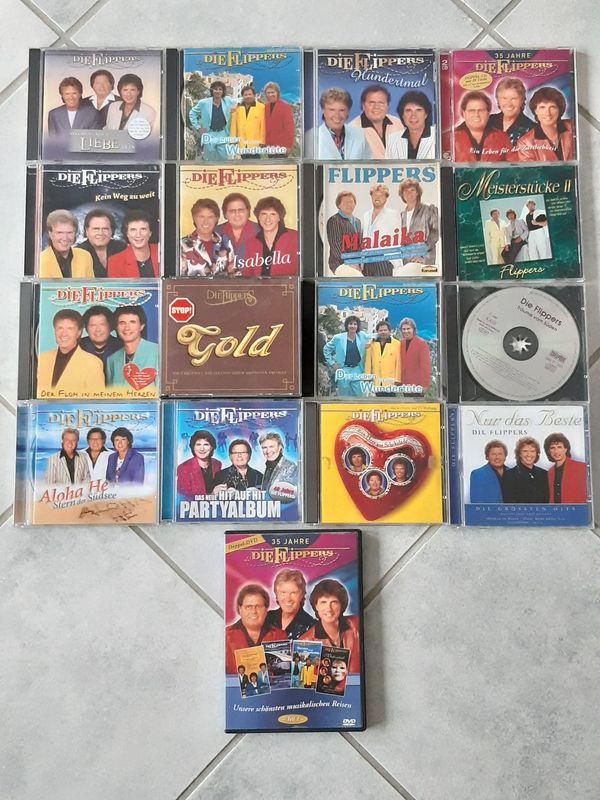 Die Flippers CD-Sammlung zu verkaufen
