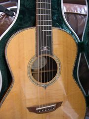 Deerbridge Laquerida Jubiläumsgitarre Nr 50