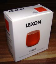 Lexon Mino Bluetooth Soundbox Lautsprecher