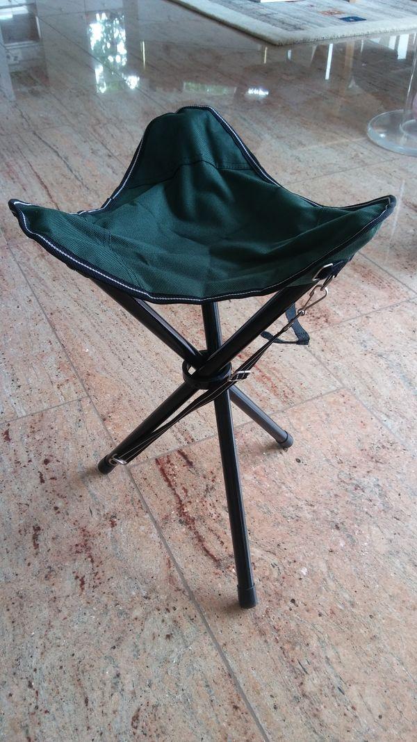 Camping-Hocker NEU