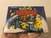 N64 Pokemon Snap Nintendo64 Ovp
