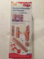 HABA Baustein-Klemmen und Rampen Ergänzung