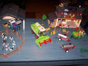 Playmobil großer Bauernhof mit Scheune