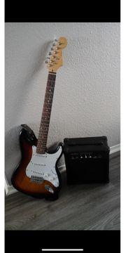 E Gitarre mit g-15 gk