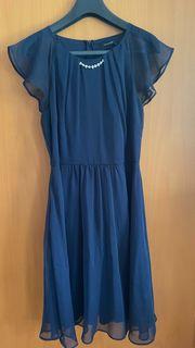 Orsay Kleid dunkelblau Gr M