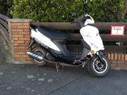 Rex Moto Roller 45ccm fahrbereit