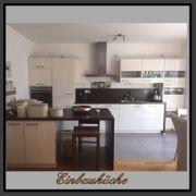 GROSSE Einbauküche Küchenblock mit Theke