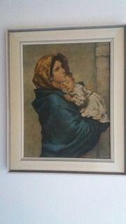 Gemälde Madonna mit Kind