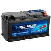 NRG Autobatterie AGM 110Ah 12V