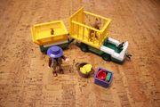 Playmobil 3242 - Tierpfleger - Transportfahrzeug Zoo
