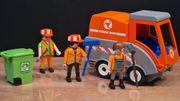 Playmobil Straßenkehrmaschine Bauhof Müllmänner