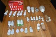 30x Energiesparlampe Birne Leuchtmittel verschiedene