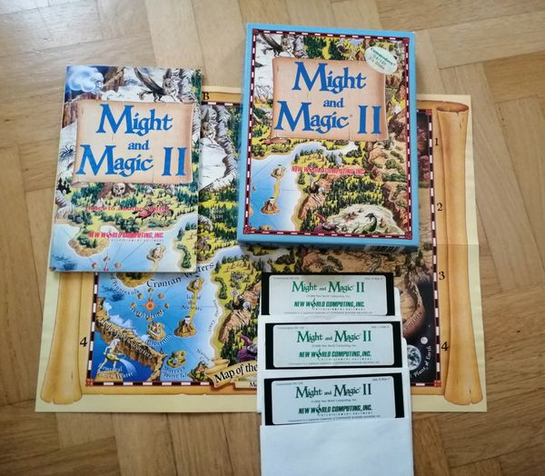 Might and Magic II OVP