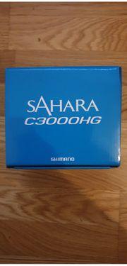 Verkaufe Angelrolle Shimano Sahara