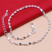 925 Silber Fuss Kette Fußkette