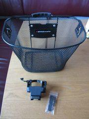 Fahrradkorb vorne Metall schwarz Bikemate