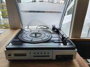 MP3-Plattenspieler mit Radio USB SD