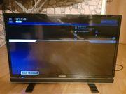 Grundig LCD-TV mit LED-Technik schwarz