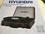 Plattenspieler mit Koffer - Hyundai HY-106PLK