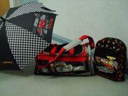 Disney Cars Schirm Rucksack Tasche