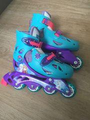 Mädchen Rollerblades