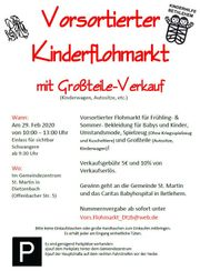 Vorsortierter Kinderflohmarkt Dietzenbach