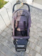 Kinderwagen Teutonia Cosmo grau