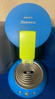 Senseo Limited Edition blau gelb