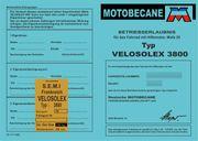 Velosolex - SEMI - für 3800 Motobecane -