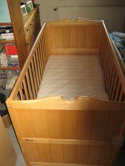 Kinderbett Babybett Gitterbett Bett aus